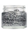 Potje met glitter gel in het zilver